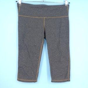 Gapfit Gray Workout Capri Activewear Leggings (C5)